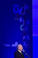 BRASÍLIA, DF, 07.11.2016 – MÉRITO-CULTURAL – O presidente Michel Temer durante cerimônia de entrega da Ordem do Mérito Cultural 2016 – Dona Ivone Lara, no Palácio do Planalto nesta segunda-feira, 07. (Foto: Ricardo Botelho/Brazil Photo Press)