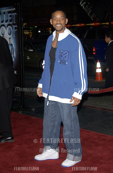 Actor WILL SMITH at the world premiere, in Hollywood, of Bulletproof Monk..April 9, 2003.