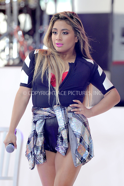 WWW.ACEPIXS.COM<br /> July 10, 2015 New York City<br /> <br /> Ally Brooke of Fifth Harmony performing in Concert on NBC's 'Today' at Rockefeller Plaza on July 10, 2015 in New York City.<br /> <br /> Credit: Kristin Callahan/ACE Pictures<br /> Tel: (646) 769 0430<br /> e-mail: info@acepixs.com<br /> web: http://www.acepixs.com