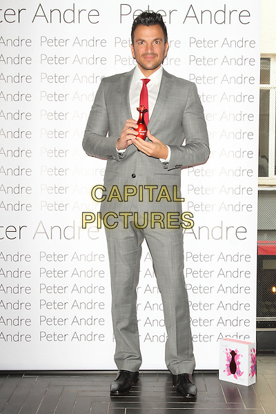 LONDON, ENGLAND - OCTOBER 02: Peter Andre launches his new fragrance 'Scarlet' at Chotto Matte on October 2, 2014 in London, England<br /> CAP/ROS<br /> &copy;Steve Ross/Capital Pictures