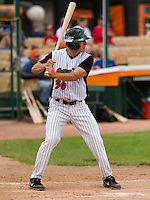 GREEN BAY - June 2015: Green Bay Bullfrogs outfielder Connor Ross (36) during a Northwoods League game against the Kenosha Kingfish on June 21st, 2015 at Joannes Park in Green Bay, Wisconsin. Green Bay defeated Kenosha 10-7. (Brad Krause/Krause Sports Photography)