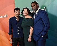 Sean Teale + Julia Ormond + Dennis Haysbert @ the 2016 NBC Universal summer press tour held @ the Beverly Hilton hotel.<br /> August 3, 2016