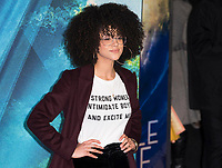 Nathalie Emmanuel attends A WRINKLE IN TIME European Premiere - London, UK  March 13, 2018. Credit: Ik Aldama/DPA/MediaPunch ***FOR USA ONLY***