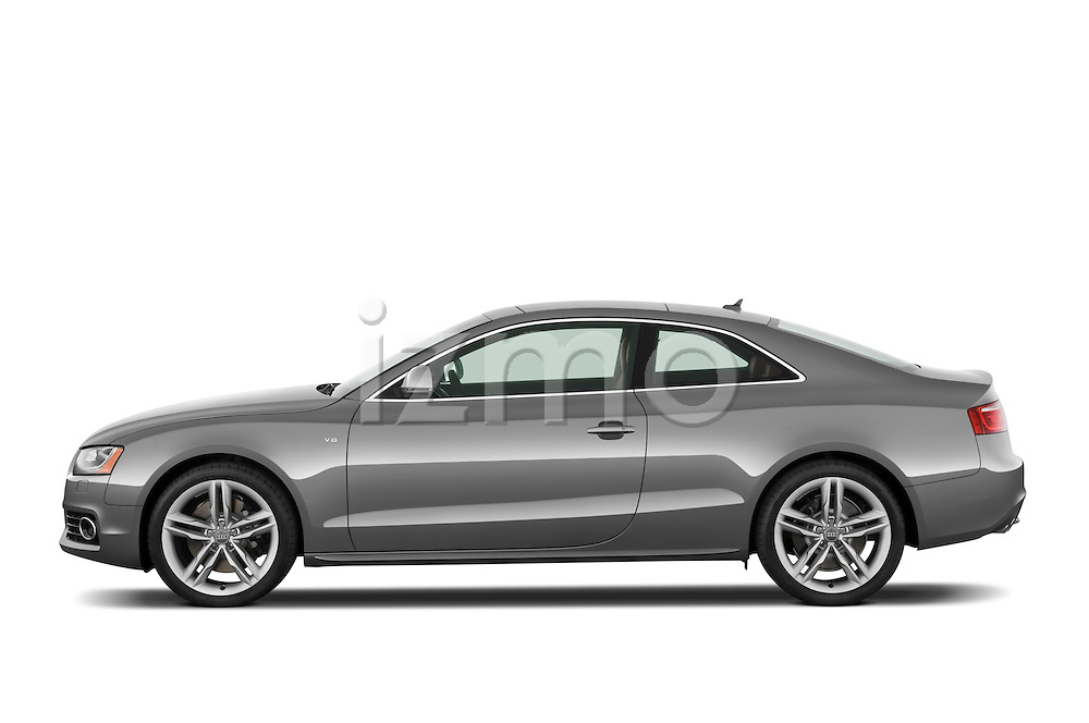 Driver side profile view of a 2007 - 2011 Audi S5 Coupe.