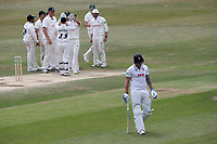 Matt Coles of Essex leaves the field having been dismissed during Essex CCC vs Nottinghamshire CCC, Specsavers County Championship Division 1 Cricket at The Cloudfm County Ground on 23rd June 2018