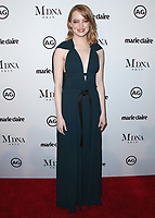 WEST HOLLYWOOD, CA - JANUARY 11:  Emma Stone at Marie Claire's Image Maker Awards 2018 at Delilah on January 11, 2018 in West Hollywood, California. (Photo by Scott Kirkland/PictureGroup)
