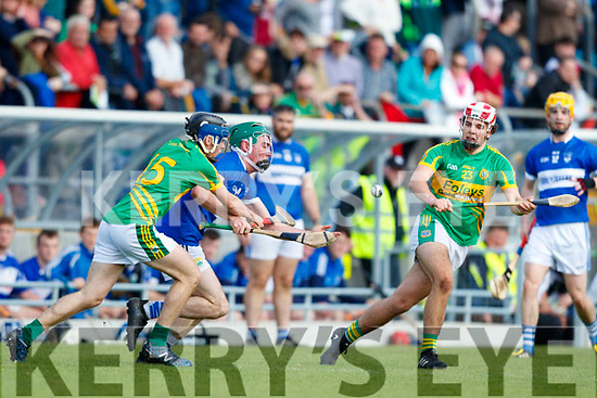 Shane Conway Lixnaw in action against Eric Leen St. Brendans in the Senior County Championship Semi Finals at Austin Stack Park on Sunday.