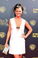 BURBANK - APR 26: Heather Tom at the 42nd Daytime Emmy Awards Gala at Warner Bros. Studio on April 26, 2015 in Burbank, California