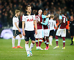 Tottenham's Harry Kane looks on dejected at the final whistle during the Premier League match at the London Stadium, London. Picture date: May 5th, 2017. Pic credit should read: David Klein/Sportimage