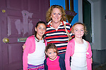 Wren Boy Night : Attending the all Ireland Wren Boy Competition in Listowel on Friday night last were Bernadette O'Donoghue with her daughters Maura, Aine & Cait from Ballyhahill.