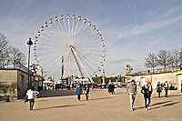 La Grande Roue in the Jardin des Tuileries Paris..©shoutpictures.com.john@shoutpictures.com