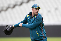 Aaron Finch (Australia) during a Training Session at Edgbaston Stadium on 10th July 2019