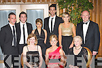 Shining Stars at the Kerry Stars ball in the Malton Hotel, Killarney on Saturday night front row l-r: Eimear Corridon, Grainne O'Sullivan, Mary McMonagle. Back row: Sean Nolan, Niall O'Sullivan, Roisin O'Brien, Leonard O'Sullivan, Triona O'Connor and Tom Tobin.