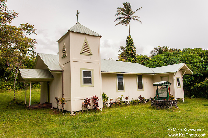 St. Paul Catholic Church, Kipahulu, Maui