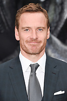 Michael Fassbender at the world premiere for &quot;Alien: Covenant&quot; at the Odeon Leicester Square, London, UK. <br /> 04 May  2017<br /> Picture: Steve Vas/Featureflash/SilverHub 0208 004 5359 sales@silverhubmedia.com