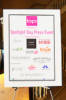 Beauty Press Presents Spotlight Day Press Event