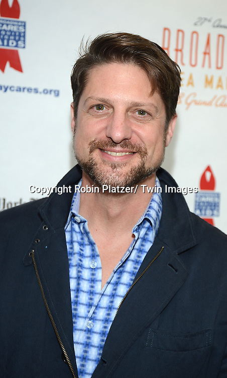 Christopher Sieber attends the 27th Annual Broadway Flea Market and Grand Auction benefitting Broadway Cares/ Equity Fights Aids on September 22, 2013 at Shubert Alley in New York City.