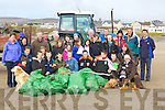 CLEAN UP: Community of Ballyheigue who took to the beach for the annual clean up on Good Friday.    Copyright Kerry's Eye 2008