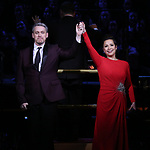 Michael Arden and Lea Salonga during the Broadway Classics in Concert at Carnegie Hall on February 20, 2018 at Carnegie Hall in New York City.