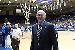 11 November 2016: Marist Athletic Director Tim Murray. The Duke University Blue Devils hosted the Marist College Red Foxes at Cameron Indoor Stadium in Durham, North Carolina in a 2016-17 NCAA Division I Men's Basketball game. Duke won the game 94-49.