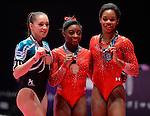 World Championships Gymnastics Womens All Around Final  2015 SSE Hydro Arena.