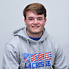 Jacob Coleman of Riverhead poses for a portrait during Newsday's 2017 varsity boys lacrosse season preview photo shoot at company headquarters on Saturday, March 25, 2017.