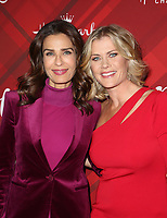 LOS ANGELES, CA - DECEMBER 4: Kristian Alfonso, Alison Sweeney, at Screening Of Hallmark Channel's 'Christmas At Holly Lodge' at The Grove in Los Angeles, California on December 4, 2017. Credit: Faye Sadou/MediaPunch /NortePhoto.com NORTEPHOTOMEXICO