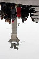 Acqua alta in Piazza San Marco, a Venezia.<br /> Acqua alta (High water) in St. Mark Square (Piazza San Marco), Venice.<br /> UPDATE IMAGES PRESS/Riccardo De Luca