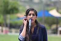 May 3 2019. Carlsbad, CA. | Carlsbad Mayor Pro Tem Dr. Priya Bhat-Patel talks at Community Call to Action Led by Community Leaders and Local Elected Officials in Response to Poway Shooting held at Alga Norte Community Park in Carlsbad. | Photos by Jamie Scott Lytle. Copyright.