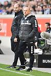 10.04.2019, Schauinsland-Reisen-Arena, Duisburg, GER, 2. FBL, MSV Duisburg vs. 1. FC Koeln,<br />  <br /> DFL regulations prohibit any use of photographs as image sequences and/or quasi-video<br /> <br /> im Bild / picture shows: <br /> Trainer / Headcoach Torsten Lieberknecht (MSV Duisburg), <br /> <br /> Foto © nordphoto / Meuter