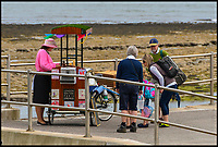 Ice cream war break's out in genteel Lyme Regis.