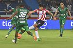 Atlético Junior igualó como local 0-0 ante Patriotas. Fecha 13 Liga Águila I-2017.