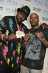 Billboards after party at Pure in Caesars Palace<br /> <br /> Hip Hop artist Too $hort (black t shirt_ and Manager with Yellow Bus