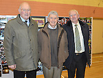 First team members from 1962 Dan Power, Jim Reilly and Kit Conlon at the 60th birthday celebrations of Mattock Rangers. Photo:Colin Bell/pressphotos.ie