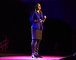 Christine Porath speaks during the Ted X event on Saturday, Jan. 27, 2018 at the Reno-Sparks Convention Center in Reno.
