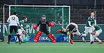AMSTELVEEN - keeper Mark Ingram (R'dam)   tijdens de hoofdklasse competitiewedstrijd heren, AMSTERDAM-ROTTERDAM (2-2). COPYRIGHT KOEN SUYK