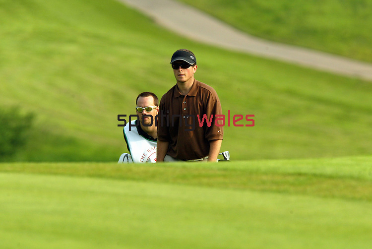 Henrik Bjornstad.The Celtic Manor Resort Wales Open 2003..©Steve Pope.Sportingwales.com.07798 83 00 89