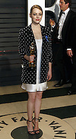 www.acepixs.com<br /> <br /> February 26 2017, LA<br /> <br /> Emma Stone arriving at the Vanity Fair Oscar Party at the Wallis Annenberg Center for the Performing Arts on February 26 2017 in Beverly Hills, Los Angeles<br /> <br /> By Line: Famous/ACE Pictures<br /> <br /> <br /> ACE Pictures Inc<br /> Tel: 6467670430<br /> Email: info@acepixs.com<br /> www.acepixs.com