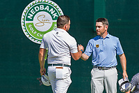 Zander Lombard (RSA) and Louis Oosthuizen (RSA) during the 3rd round at the Nedbank Golf Challenge hosted by Gary Player,  Gary Player country Club, Sun City, Rustenburg, South Africa. 16/11/2019 <br /> Picture: Golffile | Tyrone Winfield<br /> <br /> <br /> All photo usage must carry mandatory copyright credit (© Golffile | Tyrone Winfield)