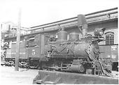3/4 engineer's-side view of C&amp;S #5 stored at Denver.<br /> C&amp;S  Denver, CO
