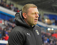 Luton Town Manager Graeme Jones during Reading vs Luton Town, Sky Bet EFL Championship Football at the Madejski Stadium on 9th November 2019