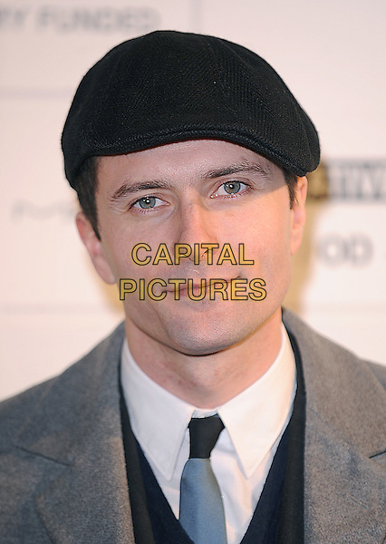 EDWARD HOGG .attending the Independent Film Awards 2009, The Brewery, Chiswell Street, London, England UK, .6th December 2009. .portrait headshot cap hat black tie grey gray blue .CAP/BEL.©Tom Belcher/Capital Pictures.