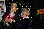 Ivana Trump with puppy and Dr. Ruth at the First Annual StarPet 2008 Awards Luncheon as dogs and cats compete for a career in showbusiness on November 10, 2008 at the Edison Ballroom, New York, New York. The event benefitted Bideawee and NY SAVE. (Photo by Sue Coflin/Max Photos