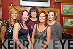 Evelyn O'Leary, Carla O'Neill, Matilda McCarthy, Olivia Lynch and Marie Cahillane enjoying the New Years eve party in Corkerys.