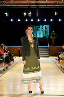 Denise H Collection, New Zealand Eco Fashion Exposed Maintain &amp; Sustain at Notre Dame Performing Arts Centre, Lower Hutt, New Zealand on Friday 25 July 2014. <br /> Photo by Masanori Udagawa. <br /> www.photowellington.photoshelter.com.