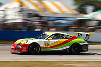 2017 Porsche GT3 Cup USA<br /> Sebring International Raceway, Sebring, FL USA<br /> Friday 17 March 2017<br /> 45, Charles Luck IV, GT3G, USA, 2016 Porsche 991<br /> World Copyright: Jake Galstad/LAT Images<br /> ref: Digital Image lat-galstad-SIR-0317-14697