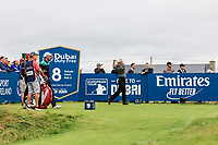 Mike Weir (CAN) on the 18th tee during the 3rd round of the Dubai Duty Free Irish Open, Lahinch Golf Club, Lahinch, Co. Clare, Ireland. 06/07/2019<br /> Picture: Golffile | Thos Caffrey<br /> <br /> <br /> All photo usage must carry mandatory copyright credit (© Golffile | Thos Caffrey)