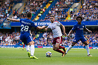 Burnley's Robbie Brady in action<br /> <br /> Photographer Craig Mercer/CameraSport<br /> <br /> The Premier League - Chelsea v Burnley - Saturday August 12th 2017 - Stamford Bridge - London<br /> <br /> World Copyright &copy; 2017 CameraSport. All rights reserved. 43 Linden Ave. Countesthorpe. Leicester. England. LE8 5PG - Tel: +44 (0) 116 277 4147 - admin@camerasport.com - www.camerasport.com