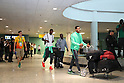 Nigeria team group (NGR), <br /> AUGUST 4, 2016 - Football / Soccer : <br /> Nigeria team arrived at the airport <br /> during the Rio 2016 Olympic Games in Manaus, Brazil. <br /> (Photo by YUTAKA/AFLO SPORT)