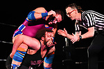 """NELSON, NEW ZEALAND - JULY 29:Ultimate Championship Wrestling """"Bad Company"""" on July 29, 2017 in Nelson, New Zealand. (Photo by: Chris Symes/Shuttersport Limited)"""